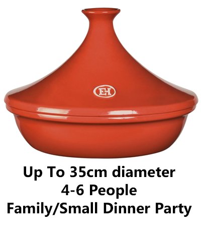 What size tagine